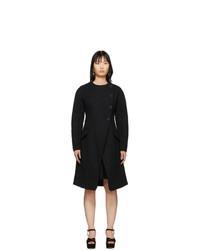 Proenza Schouler Black Boucle Coat