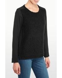 Nydj boucle sweater front blouse medium 95848