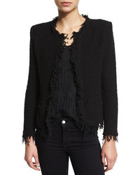 Shavani open front boucle jacket medium 3749936