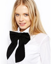 Asos Oversized Bow Tie Black