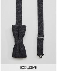 Reclaimed Vintage Bow Tie In Black