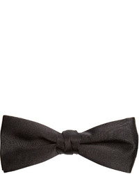 Saint Laurent Silk Satin Bow Tie