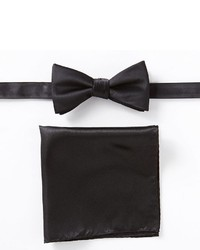 Apt. 9 Solid Pretied Bow Tie Pocket Square