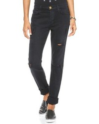 Women's Black Boyfriend Jeans from BooHoo | Women's Fashion