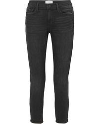 Frame Le Garcon Cropped Slim Leg Jeans