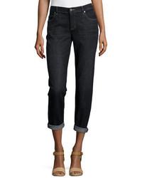 Stretch boyfriend jeans petite medium 1213413