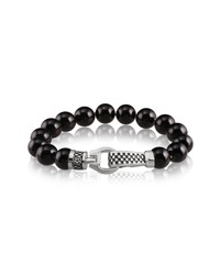 Room101 Agate Checker Clasp Bracelet