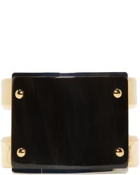 Marni Black Horn Cuff Bracelet