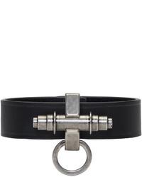 Givenchy Black Simple Obsedia Bracelet