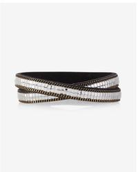Express Double Wrap Rhinestone Bracelet