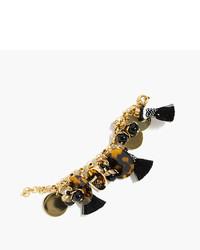 J.Crew Fun Tassel Charm Bracelet