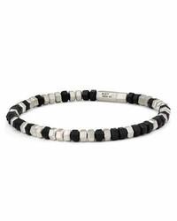 David Yurman Hex Bead Bracelet Black