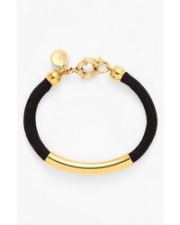 Marc by Marc Jacobs Grab Go Cord Bracelet Black Gold