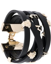 Versace Medusa Logo Strap Bracelet