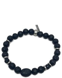 Mr black hero lava stone bracelet medium 4123723