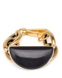 Marni Obsidian Chain Bracelet