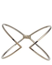 Open x hinge bracelet medium 1195825