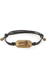 Tomas Maier Palm Detail Cord Bracelet