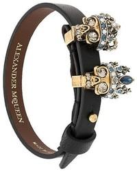 Alexander McQueen Queen And King Bracelet