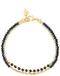 Astley Clarke Spinel Fire Elet Double Row Biography Bracelet