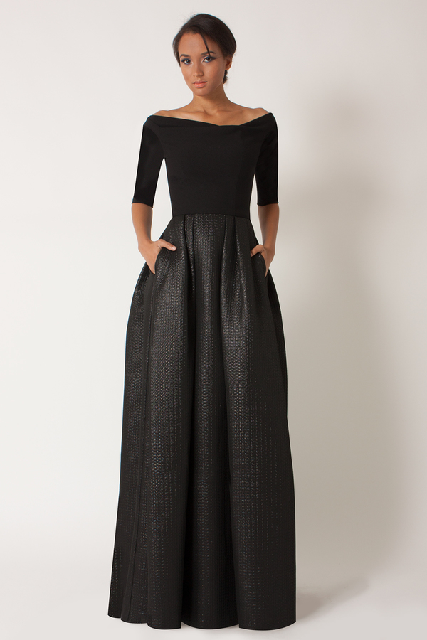 Black Halo Hayley Cb Gown | Where to buy & how to wear