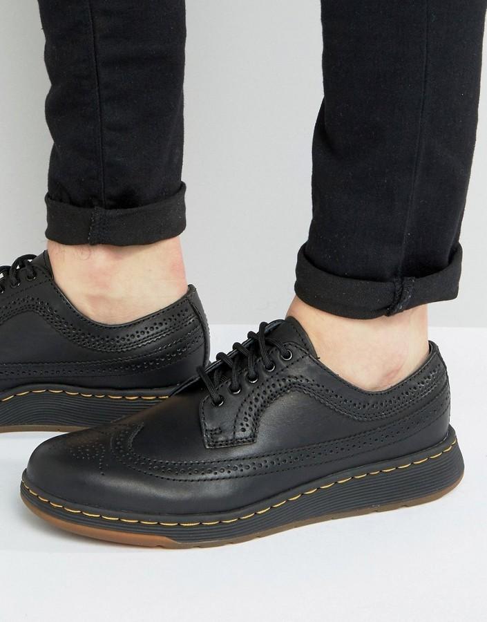 vente pas cher magasin d'usine caractéristiques exceptionnelles Dr Martens Lite Gabe Brogue Shoes