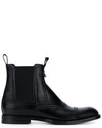 Gucci Brogue Ankle Boots