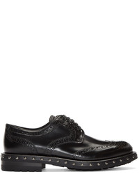 Dolce & Gabbana Dolce And Gabbana Black Studded Brogues