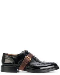 Valentino Garavani Buckle Strap Derbys Shoes