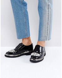 Asos Major Embellished Brogues