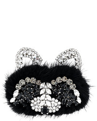 Ermanno Scervino Embellished Raccoon Brooch