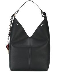 Anya Hindmarch Black Bucket Shoulder Bag