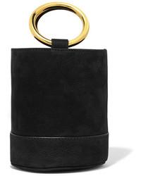 Simon Miller Bonsai 15 Mini Nubuck Bucket Bag Black