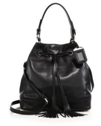 Prada Soft Calf Bucket Bag