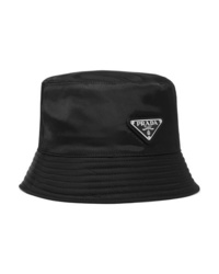 Prada Appliqud Shell Bucket Hat