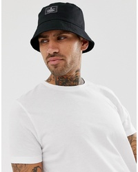 ASOS DESIGN Asos Bucket Hat In Black With Patch