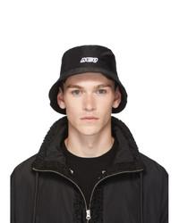 McQ Alexander McQueen Black Bucket Hat