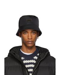 Prada Black Bucket Hat