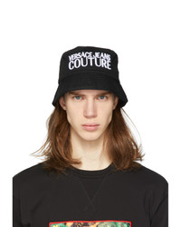VERSACE JEANS COUTURE Black Bucket Hat