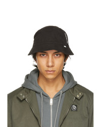 Diesel Black Dachet Bucket Hat