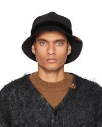 Miharayasuhiro Black Double Hat