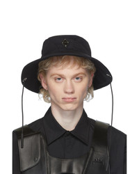A-Cold-Wall* Black Drawcord Bucket Hat