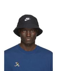 Nike Black Futura Bucket Hat