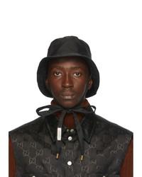 Gucci Black Gg Bucket Hat
