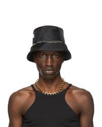Kara Black Jean Bucket Hat