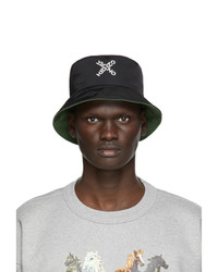Kenzo Black Little X Bucket Hat