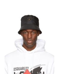 DSQUARED2 Black Logo Bucket Hat