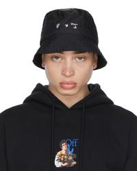 Off-White Black Logo Bucket Hat