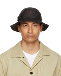 Stone Island Black Marina Bucket Hat
