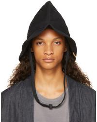 VISVIM Black Moleskin Panamka Scout Bucket Hat